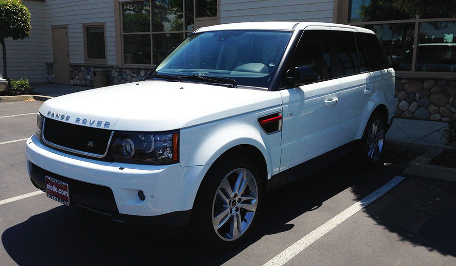2013 Range Rover Sport Limited Edition Window Tint